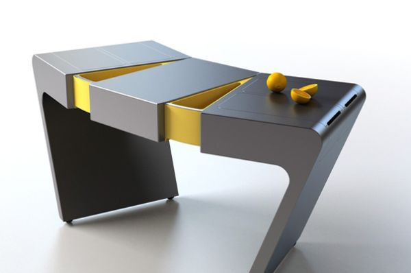 Accordion folding cook table