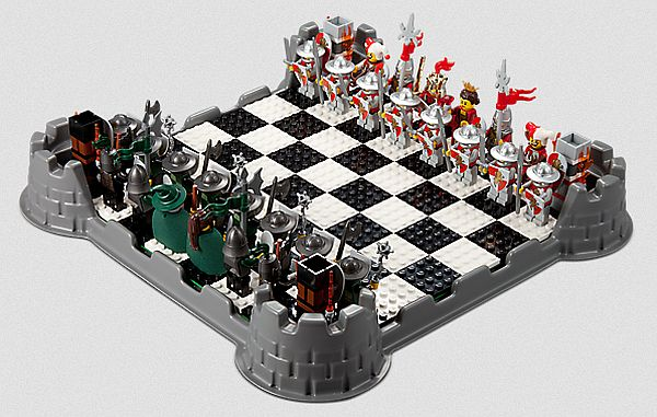 Lego Chess & Checkers