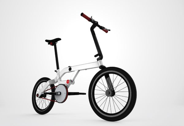SPACE Folding Bicycle3