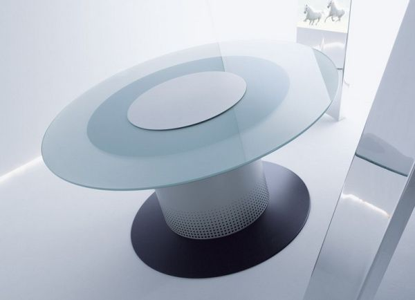 Smart table refrigerator concept