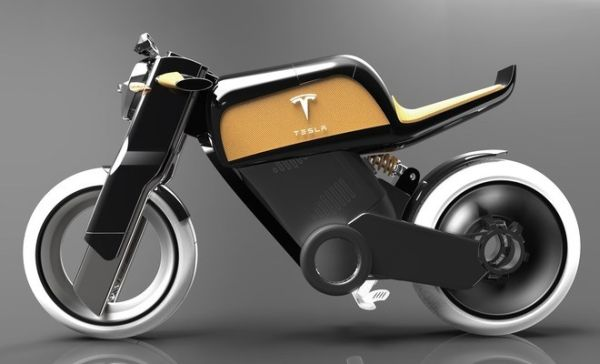 Tesla Electric Motorcycle Concept