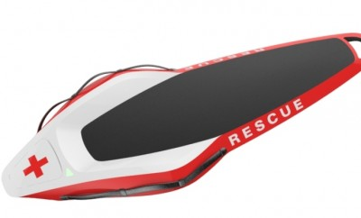 ResQ jet-powered surfboard