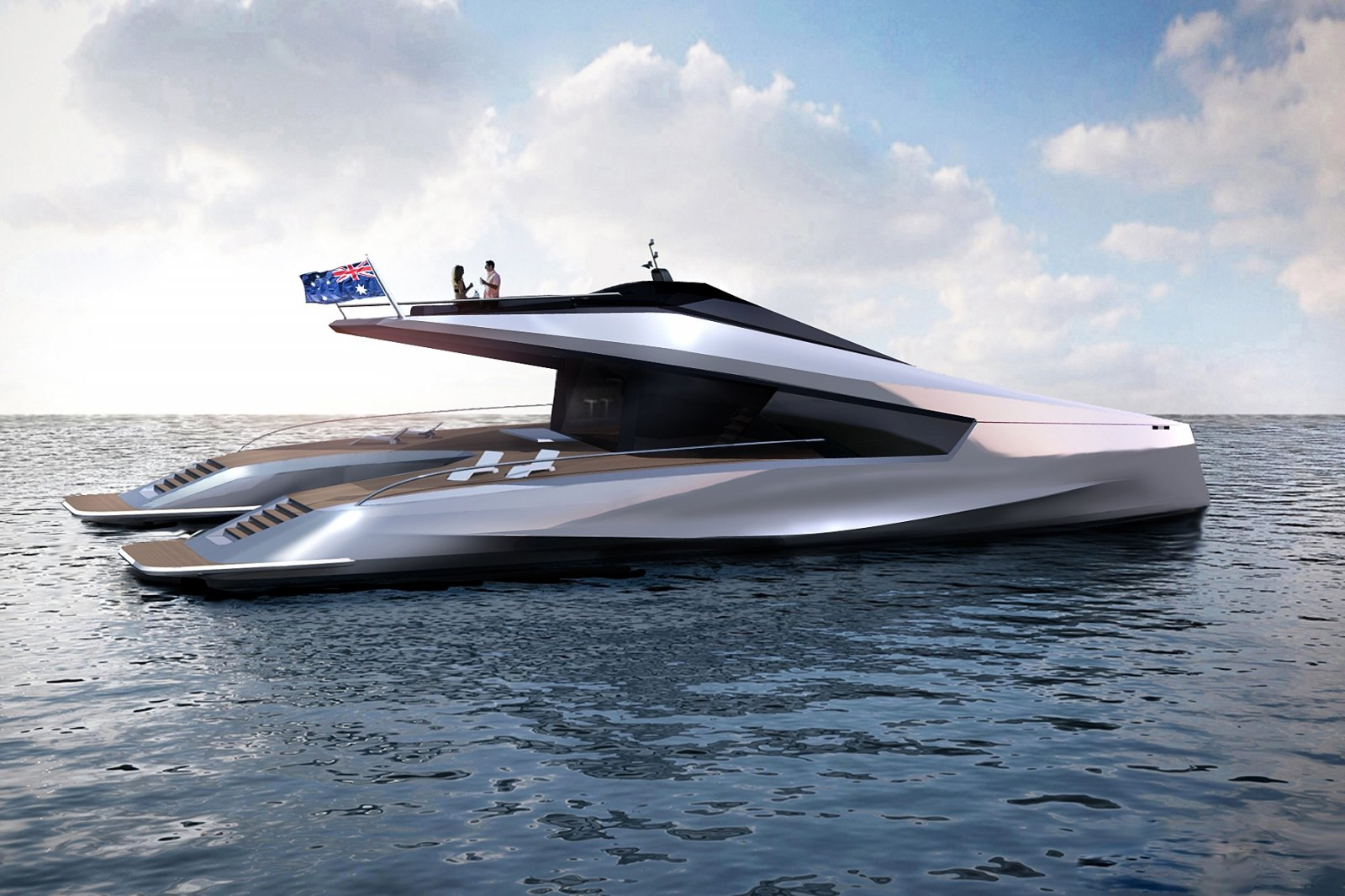 Peugeot's luxury 115 Power Catamaran 3