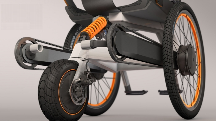 eV – An electric wheelchair